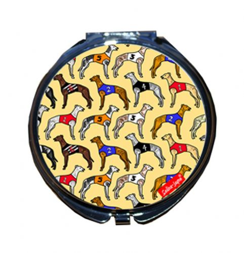 Selina-Jayne Greyhounds Limited Edition Compact Mirror
